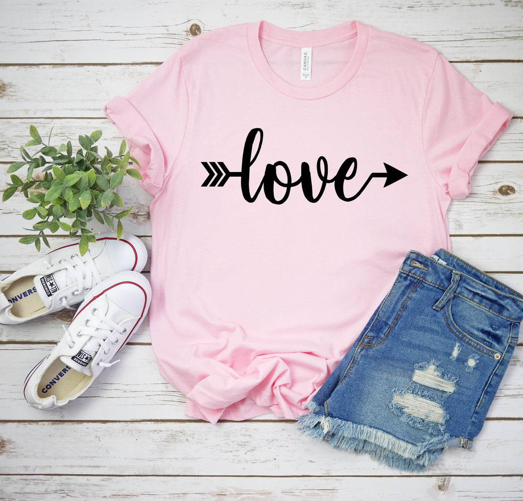 Love shirt- valentines day shirt - womens valentines day shirt - Valentines day outfit- Valentines day shirt- Cute women's Valentine top-