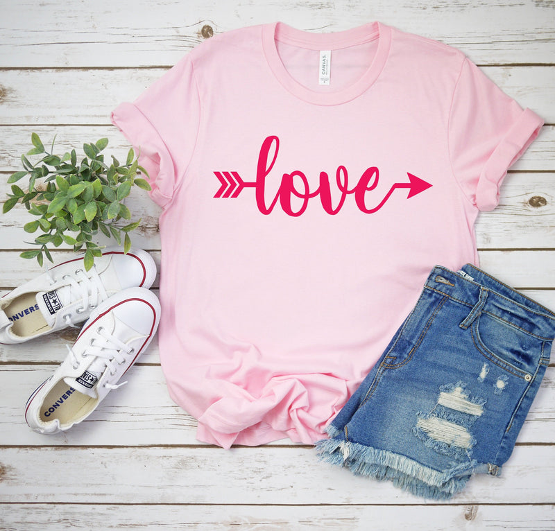 valentines day tee - womens valentines day shirt - Valentines day outfit - Valentines day shirt - Cute women's Valentine top - love shirt