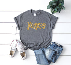 Cute Valentines day shirt- Xoxo shirt- Shirt for valentines day- Valentines day outfit- Glitter shirt- Valentines day shirt- Valentine top-