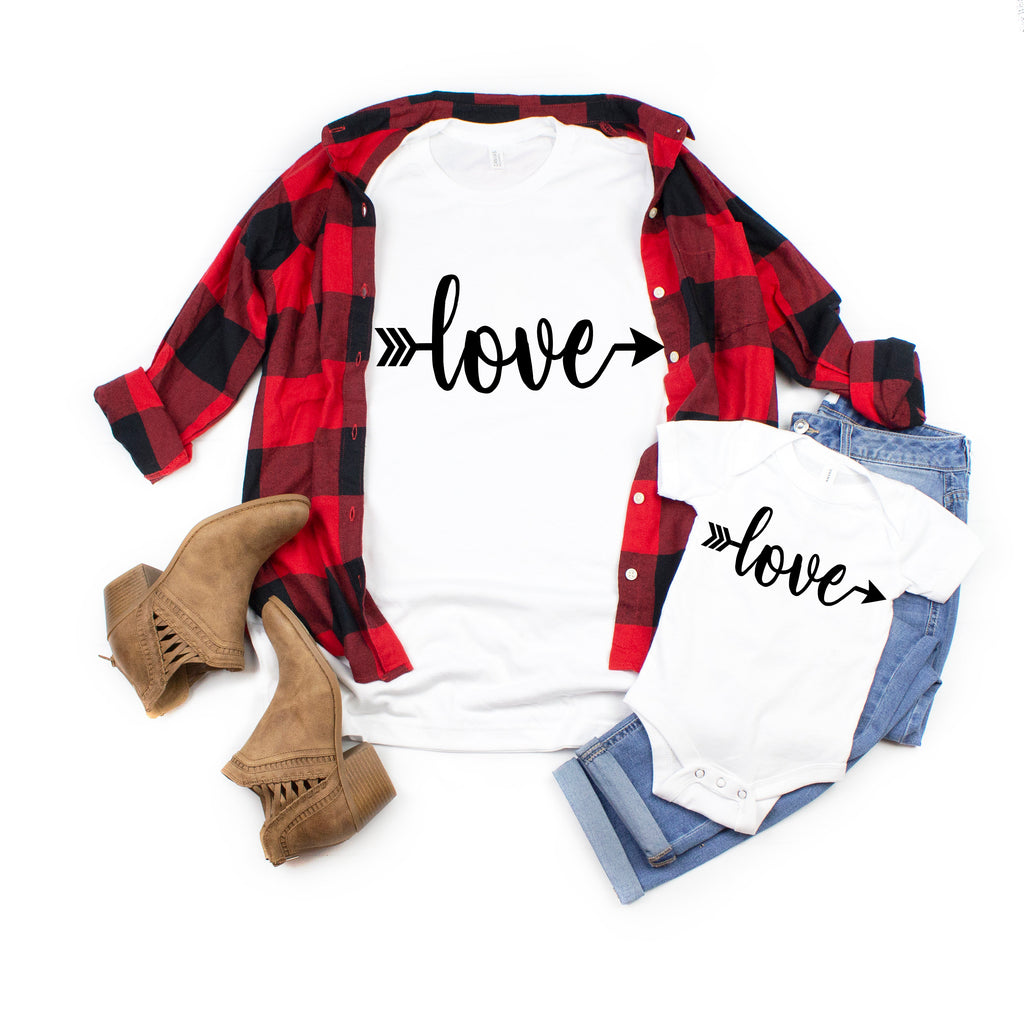 Mom and daughter shirt -Valentine's shirt - Xoxo shirt- Mommy and me outfit  - love shirt for mom and daughter - Cute matching shirts-