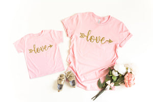 Mommy and me valentines shirt, matching valentines day shirt, mom and daughter valentines, valentines day shirt, kids valentines day shirt