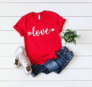 love shirt - valentines day tshirt - womens valentines day shirt - Valentines day outfit - Valentines day shirt - Cute women's Valentine top