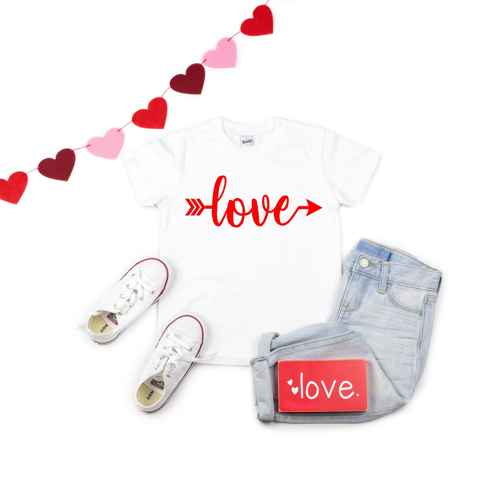 Children's Valentine's day shirt - Cute children's shirt - Love shirt - Valentines day shirt for children - Valentines day outfit for kids