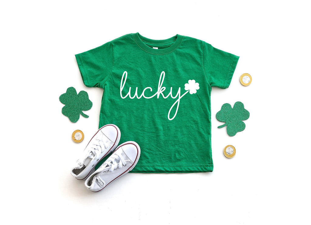 kids St Patricks day shirt - St pattys day shirt kid - St Patricks day shirt for toddler - lucky shirt kids - St pattys day shirt toddler