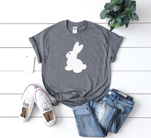 Glitter easter shirt - womens bunny shirt - Womens Easter shirt - Easter shirt for women - Cute Easter shirt - Easter gift - Easter shirt