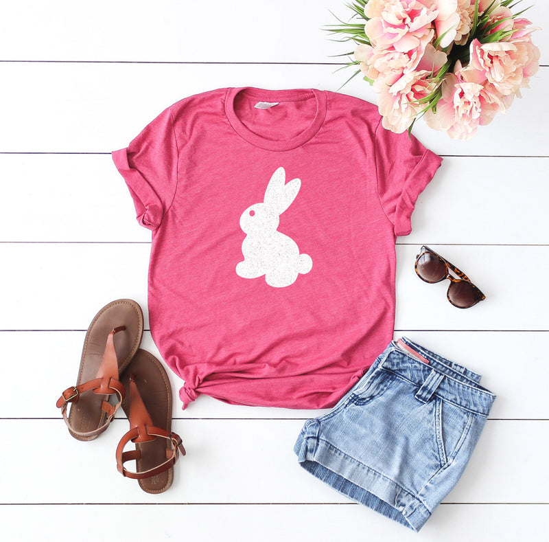 easter bunny shirt - Glitter easter shirt - Womens Easter shirt - Easter shirt for women - Cute Easter shirt - womens bunny shirt, glitter