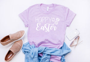Easter shirt for women - Happy easter shirt - Womens Easter shirt - Cute Easter shirt  - Easter shirt - hoppy easter - easter tshirt