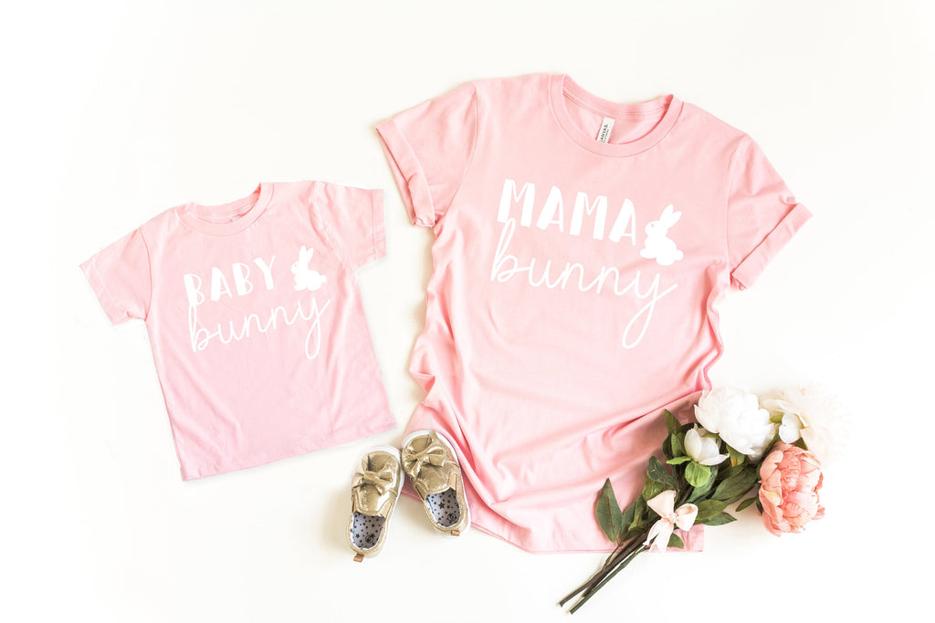 Mama bunny shirt - mom and daughter easter shirt - womens easter shirt - easter tee - mommy and me easter - Mommy and me easter shirt