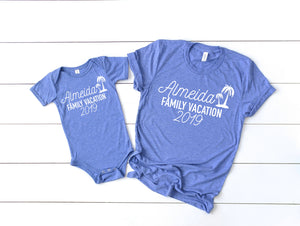 personalized Family vacation shirts - Family vacation shirts - Family Vacation tees - Matching family vacation t-shirts