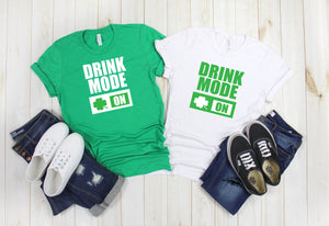 St Patty's Day Tee - Best Friend Matching Drinking shirts - St Patrick's Day Shirt - Woman's St Patty's day shirt - Cute St Patty's day tee