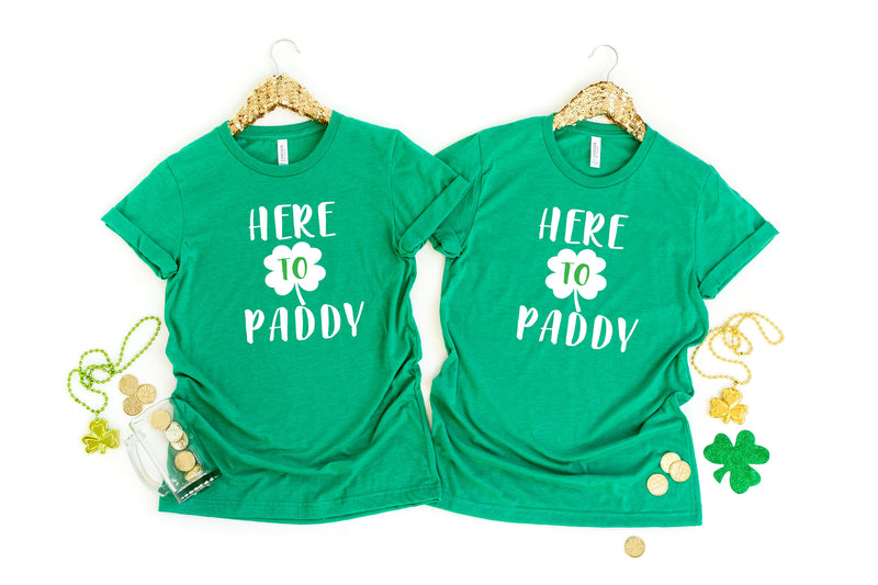 Couples St. Patricks Day Shirts - Funny St Patty's Day Shirts - St Patrick Day tees - Drinking couples Shirts - couples drinking shirts