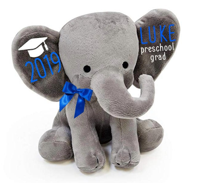 pre-school graduation keepsake - stuffed animal keepsake - graduation keepsake - pre-school graduation gift - personalized graduation  gift