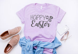 Cute Easter shirt - easter tshirt - Womens Easter shirt  - Easter shirt for women - Happy easter shirt - Easter shirt - hoppy easter