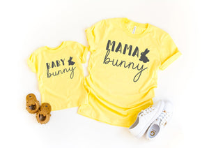 mom and daughter easter shirt - Mama bunny shirt - womens easter shirt - easter tee - mommy and me easter - Mommy and me easter shirt