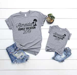 custom vacation shirts - Family vacation shirts - Family Vacation tees - Matching family vacation t-shirts - personalized vacation tees
