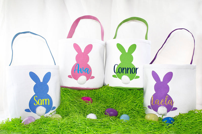 custom easter basket, Personalized easter basket, girls easter basket, boys easter basket, easter basket, easter bunny, easter gift