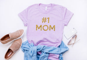 Number one mom, Best mom shirt, Gift for mom, Mothers day gift, Gift for mom, Birthday gift for mom