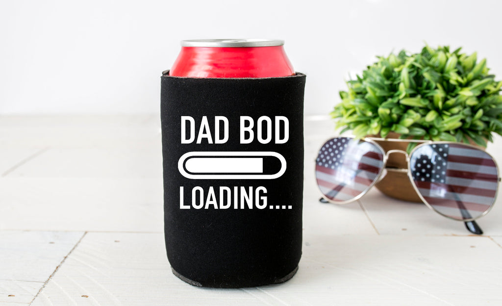 dad bod loading, dad bod can cooler, funny fathers day gift, fathers day gift, dad bod, funny fathers day gift, funny gift for dad