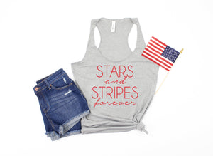 stars and stripes - womens 4th of july tank - 4th of july tank -  womens 4th of july shirt - 4th of july shirt women - fourth of july tank