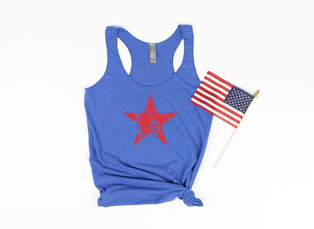 red white and blue - patriotic tank - usa tank - 4th of july tank - womens 4th of july shirt - 4th of july shirt women - fourth of july tank