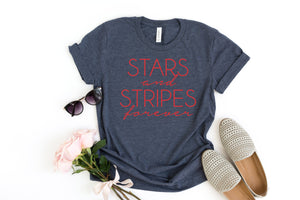 stars ands stripes tee, womens 4th of july shirt, fourth of july shirt, 4th of july shirt, memorial day shirt, patriotic shirt, merica tee