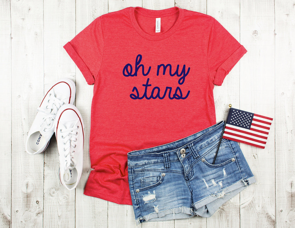 oh my stars shirt, fourth of july shirt, 4th of july shirt, memorial day shirt, funny 4th of july shirt,  funny 4th tee, patriotic shirt