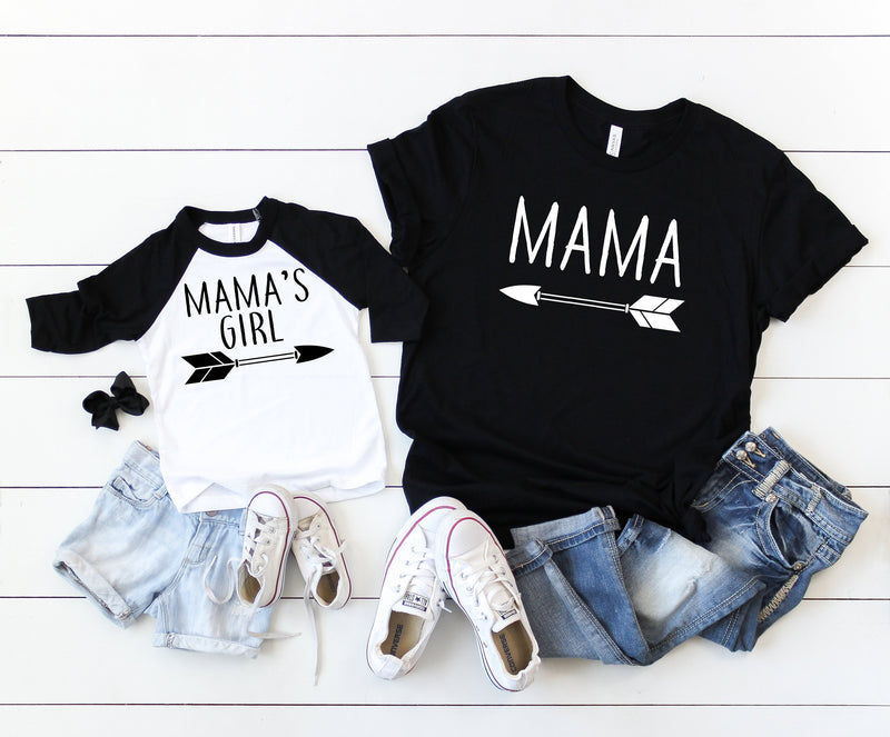 matching mommy and me, matching shirts, mommy and me shirts, gift idea for mom, mother and daughter shirts, matching tees