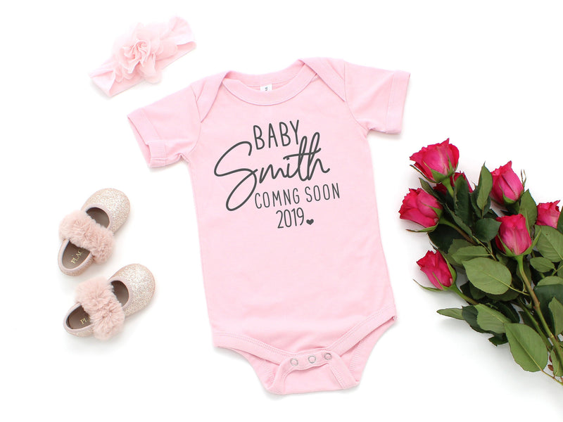 new baby announcement, baby announcement, pregnancy announcement, personalized baby announcement, baby coming soon, pregnancy reveal