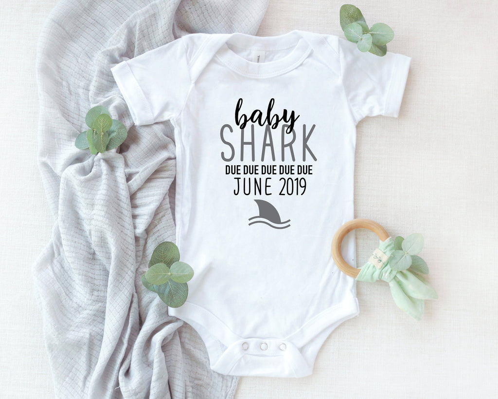 baby shark, new baby announcement, baby announcement, pregnancy announcement, baby coming soon, pregnancy reveal