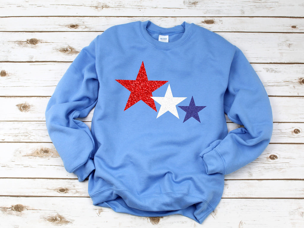 4th of july sweatshirt, womens 4th of july, america shirt, 4th of july, patriotic shirt, red white and blue, 4th of july pullover, glitter