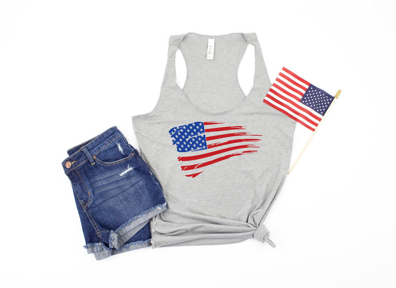 flag tank - 4th of july tank - bad and boozy tank - womens 4th of july shirt - 4th of july shirt women - fourth of july tank - 4th of july