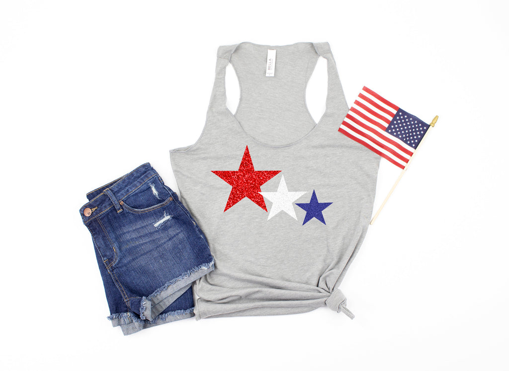 glitter 4th of july shirt - star shirt - 4th of july tank -  womens 4th of july shirt - 4th of july shirt women - fourth of july tank