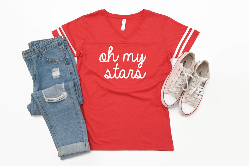 womens 4th of july shirt, usa shirt, oh my stars shirt, america shirt, patriotic shirt, 4th of july tshirt, 4th of july tee women