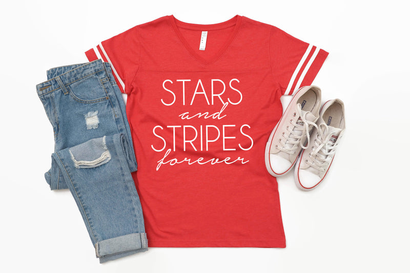 stars and stripes tshirt, womens 4th of july shirt, usa shirt, america shirt, patriotic shirt, 4th of july tshirt, stars and stripes forever