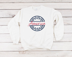 4th of july sweatshirt, america sweasthirt,  womens 4th of july, america shirt, 4th of july, patriotic shirt, 4th of july pullover