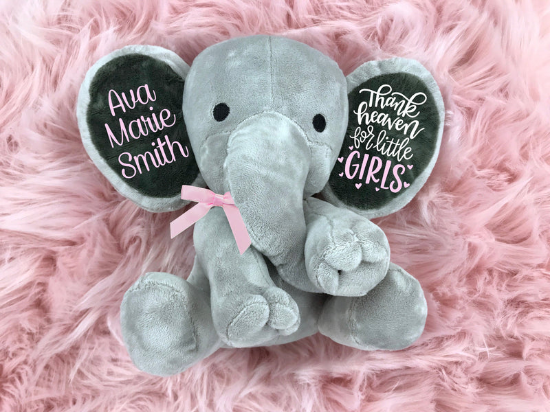 baby shower gift, baby shower gift idea, elephant baby shower, baby shower gift girl, personalized baby shower gift, newborn gift