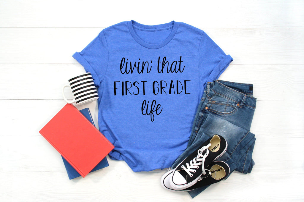 first grade teacher shirt, 1st grade tee, 1st day of school shirt teacher, 1st day of school shirt teacher, teacher shirt, shirt for teacher