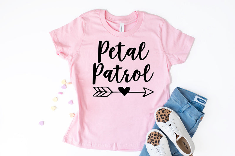 petal patrol, flower girl shirt, gift for flower girl, flower girl gift, petal patrol shirt, flower girl proposal, flower girl