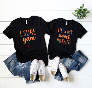 He's My Sweet Potato - I Sure Yam Matching Set