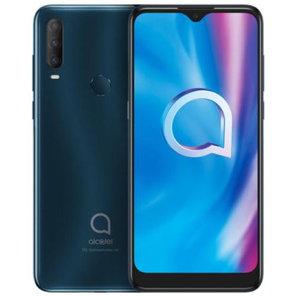Alcatel Mobile Agate Green Alcatel 1S 2020 (Australian Stock Dual SIM 3GB RAM 32GB 4G LTE)