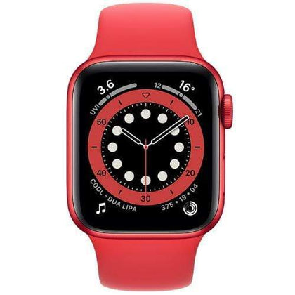Apple Smart Watch Product Red Apple Watch Series 6, GPS 40mm Product Red Aluminium Case with Sport Band