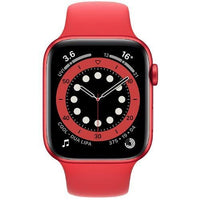 Apple Smart Watch Product Red Apple Watch Series 6, GPS+Cellular 44mm Product Red Aluminium Case with Sport Band