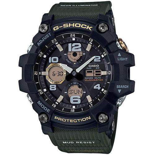 Casio G-Shock MUDMASTER Watch GSG-100-1A3DR - Front View