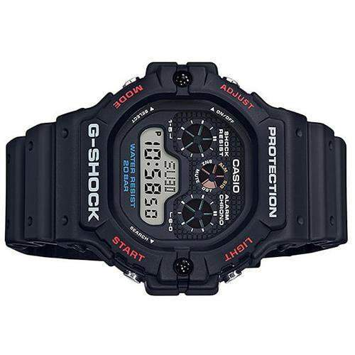 Casio G-Shock Watch DW-5900-1DR - Side View
