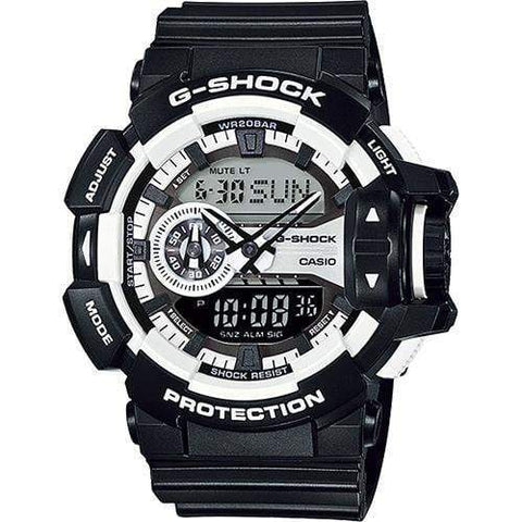 Casio G-Shock Watch GA-400-1ADR - Front View