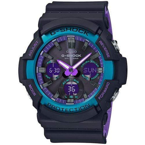 Casio G-Shock Watch GAS-100BL-1ADR - Front view