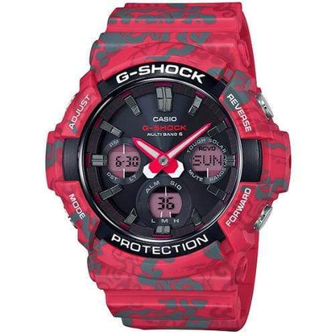 Casio G-Shock Watch GAW-100CG-4A - Front view