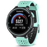Garmin Forerunner 235 GPS Running Watch Frost Blue - Front View