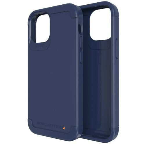 Gear4 Original Accessories Navy Blue Gear4 D3O Wembley Palette Case for iPhone 12 mini (Australian Stock)