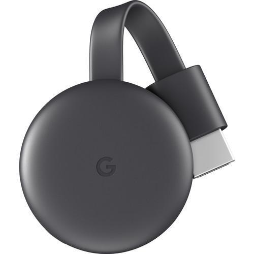 Google Chromecast 3 Charcoal - Front View